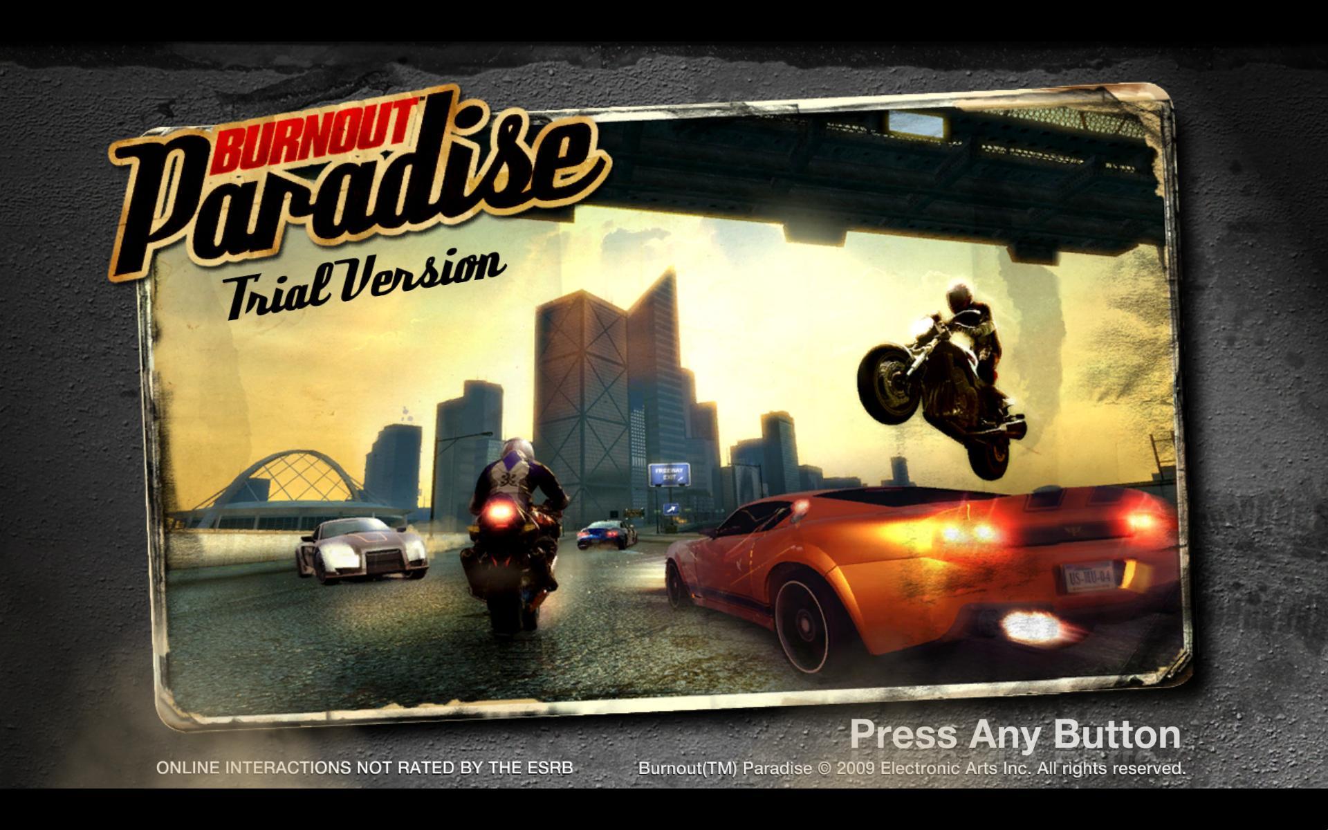 بازی جذاب Burnout Paradise The Ultimate Box
