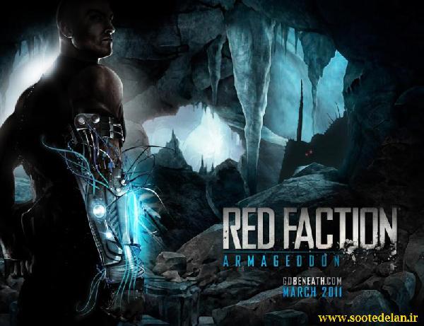 بازی اکشن و زیبای Red Faction Armageddon