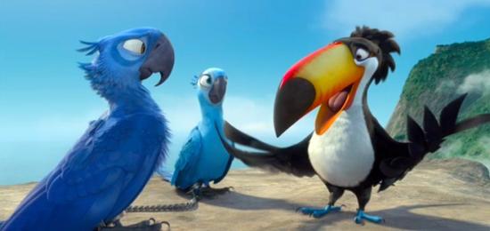 انیمیشن جدید و فوق العاده زیبا Rio محصول ۲۰۱۱ آمریکا
